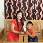 Mẹ Lê Thị Mỹ Thuận – Chia sẻ bí quyết giúp con ngủ sâu giấc tự nhiên
