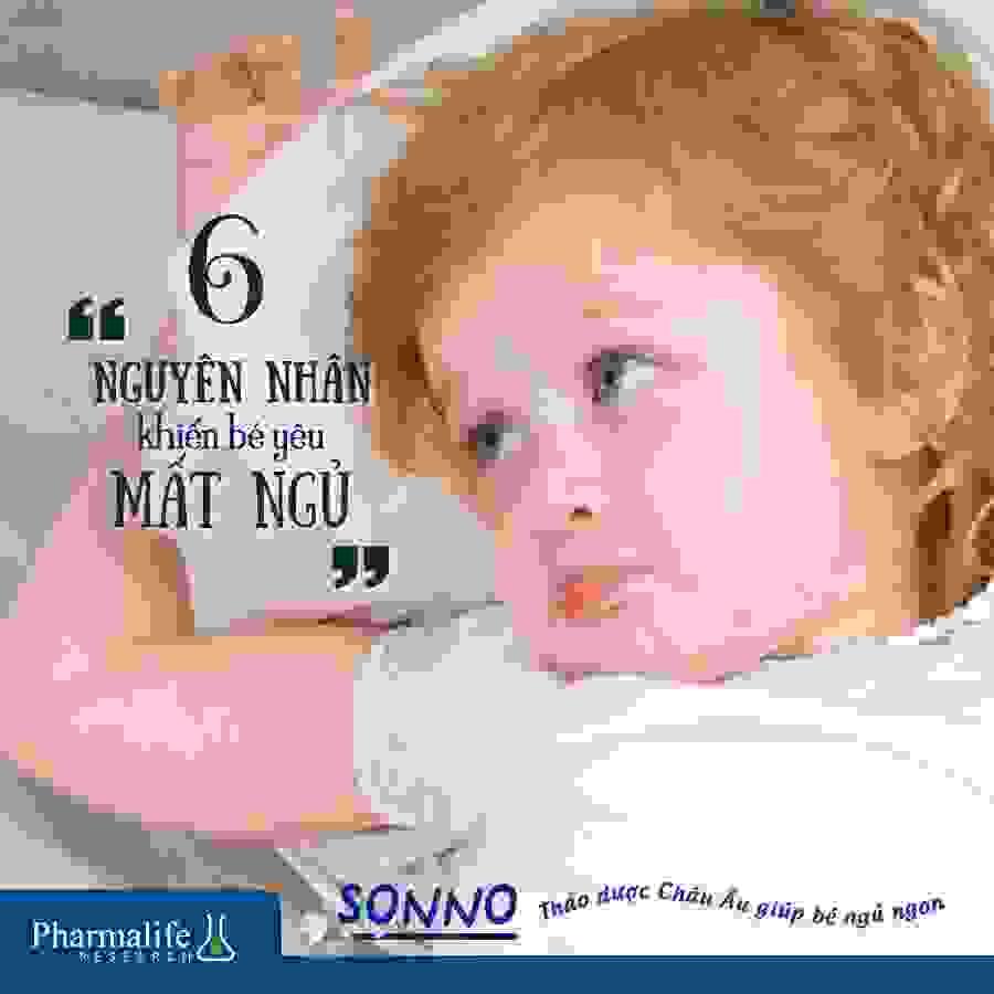 7 Nguyên nhân khiến bé 6 tháng tuổi ngủ không ngon và hay quấy khóc 1