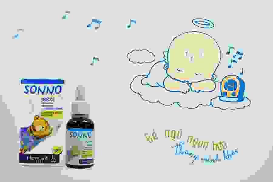 Sonno bimbi – Lựa chọn hàng đầu cho bé giật mình, khó ngủ, quấy khóc 1