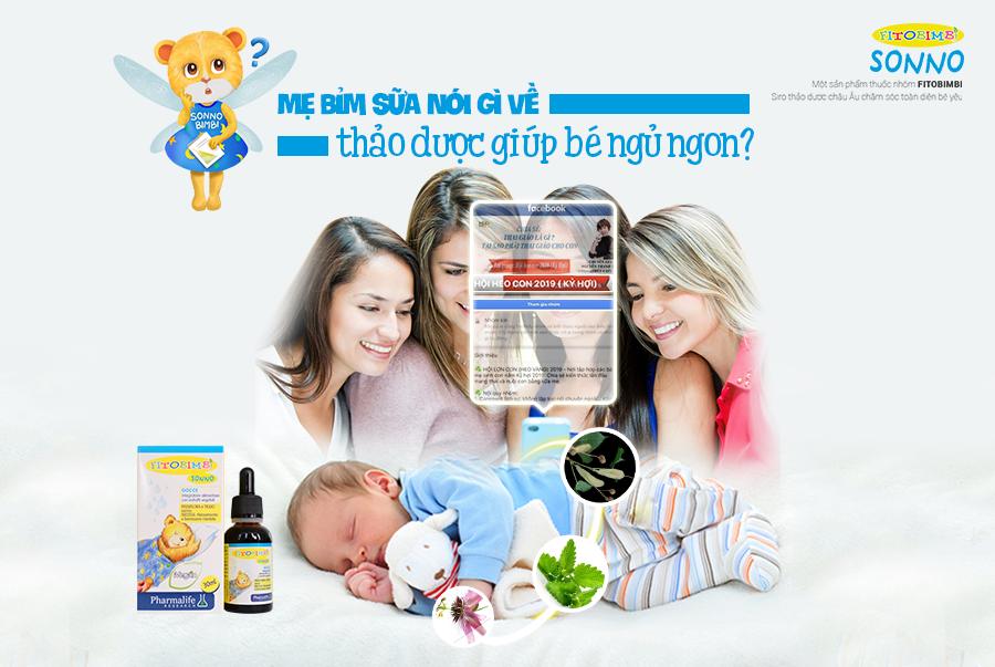 Sonno Bimbi – Siro hàng đầu giúp bé ngủ ngon, cải thiện khó ngủ, quấy đêm 1