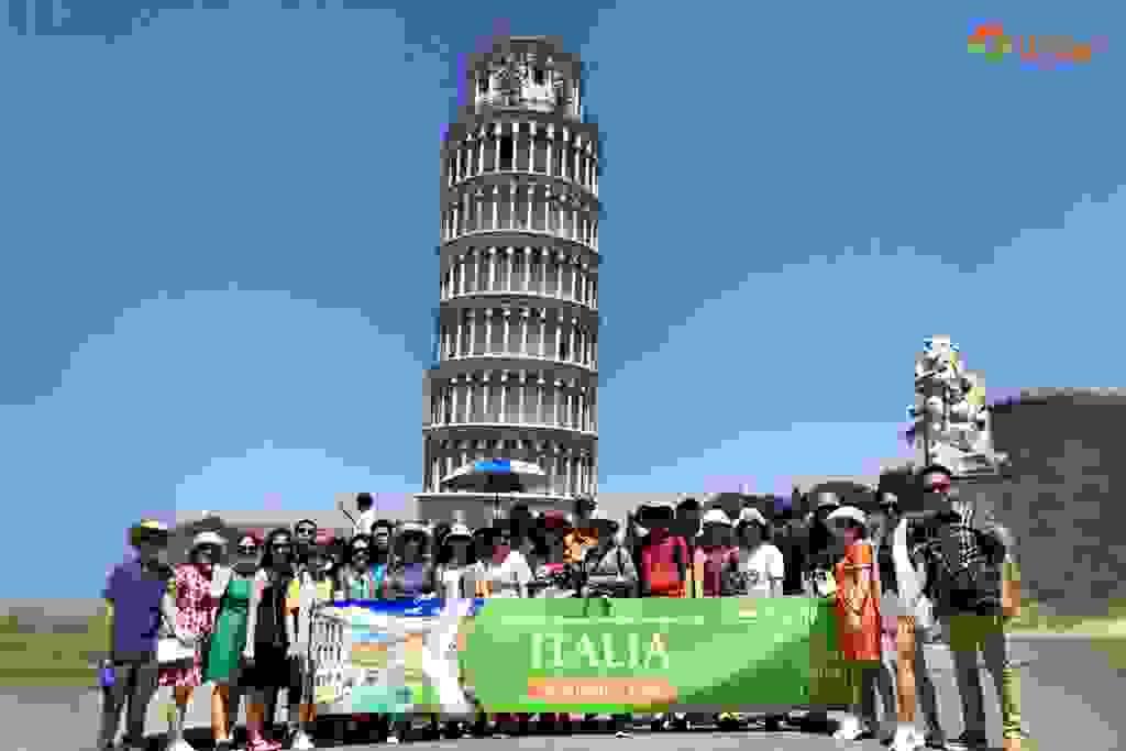 CHIÊM NGƯỠNG VẺ ĐẸP THÁP NGHIÊNG PISA 1