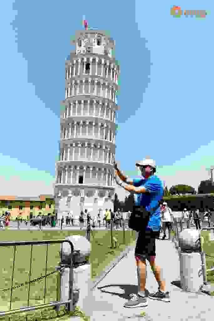CHIÊM NGƯỠNG VẺ ĐẸP THÁP NGHIÊNG PISA 2