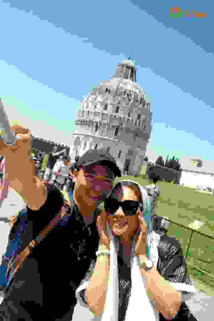 CHIÊM NGƯỠNG VẺ ĐẸP THÁP NGHIÊNG PISA 3