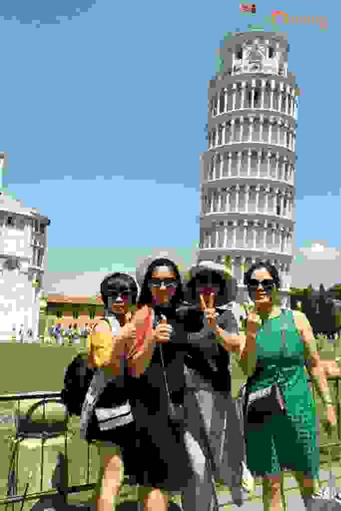 CHIÊM NGƯỠNG VẺ ĐẸP THÁP NGHIÊNG PISA 4
