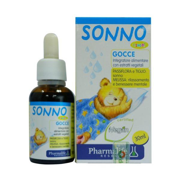 Sonno Bimbi - Siro thảo dược chuẩn hóa châu Âu giúp bé ngủ sâu giấc tự nhiên
