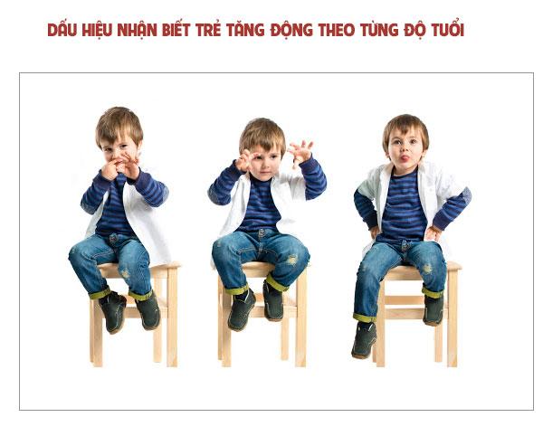 Dấu hiệu để nhận biết trẻ tăng động theo từng độ tuổi 1