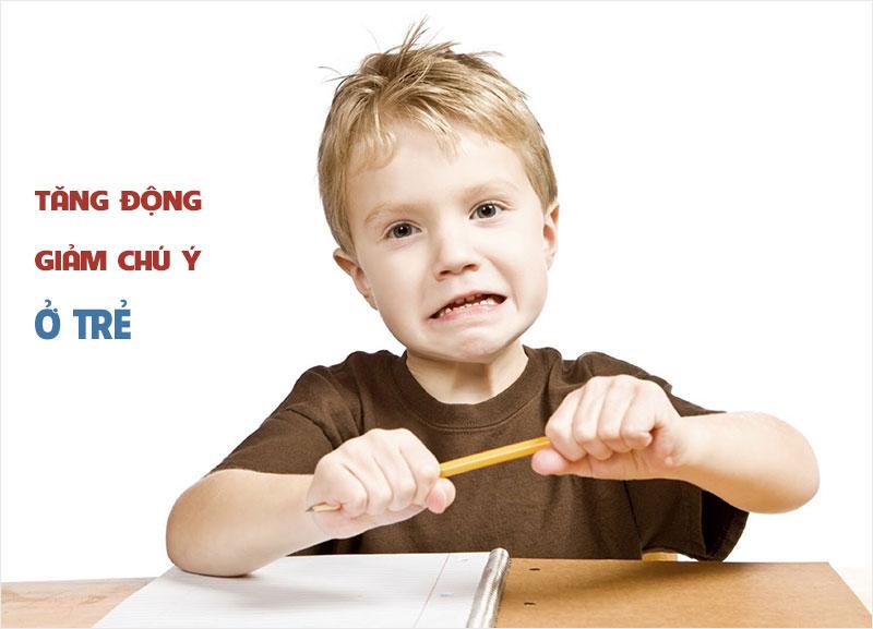 Bé bị tăng động giảm chú ý - Lời khuyên dành cho cha mẹ 1